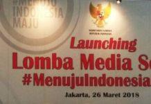 Launching Lomba Menuju Indonesia Maju