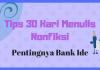 Pentingnya Bank Ide