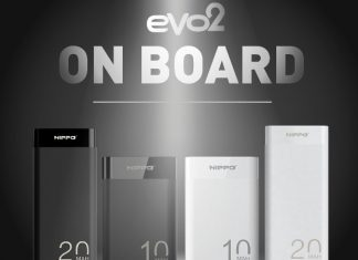 Powerbank HIPPO Evo2 Compact Powerbank Terkecil