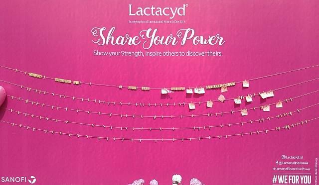 Lactacyd dan PT Sanofi Mengajak Perempuan Berbagi Kekuatan
